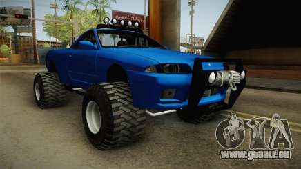 Nissan Skyline R32 Pickup Off Road für GTA San Andreas