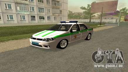 Fiat Albea FNIS pour GTA San Andreas