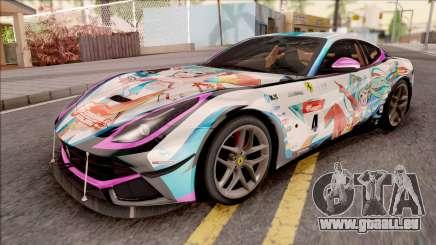 Ferrari F12 Berlinetta Noraimo Miku Racing 2016 pour GTA San Andreas