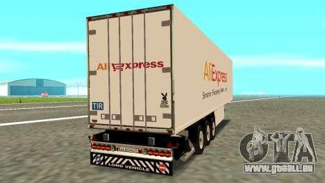 Trailer Aliexpress für GTA San Andreas linke Ansicht