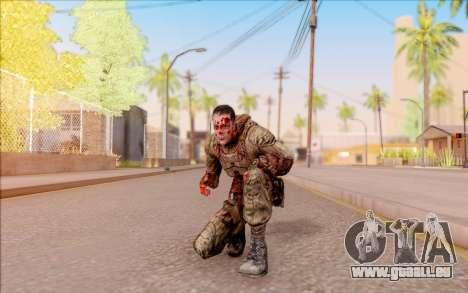 Zombie Degtyarev de S. T. A. L. K. E. R. pour GTA San Andreas cinquième écran
