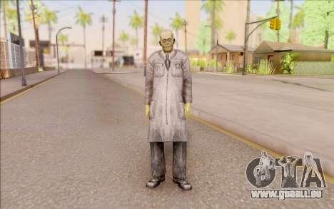 Zombie scientifique de S. T. A. L. K. E. R. pour GTA San Andreas deuxième écran