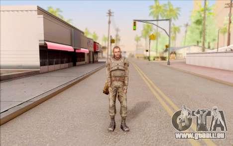 Mole de S. T. A. L. K. E. R. pour GTA San Andreas deuxième écran