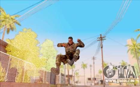 Zombie Degtyarev de S. T. A. L. K. E. R. pour GTA San Andreas sixième écran
