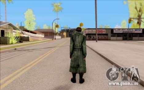 Le mâle de S. T. A. L. K. E. R. pour GTA San Andreas quatrième écran