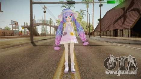 Otomachi School Skin pour GTA San Andreas deuxième écran