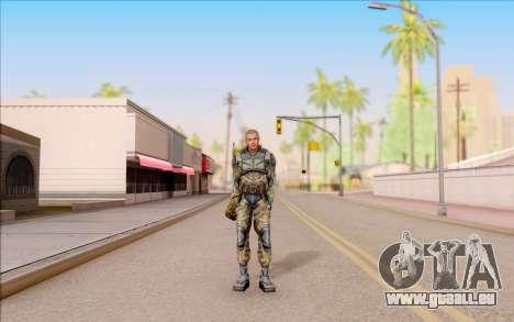 Celle de S. T. A. L. K. E. R. pour GTA San Andreas deuxième écran