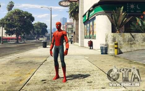 GTA 5 Spiderman [Add-On Ped] 2.2 zweite Screenshot