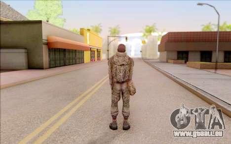Mole de S. T. A. L. K. E. R. pour GTA San Andreas cinquième écran