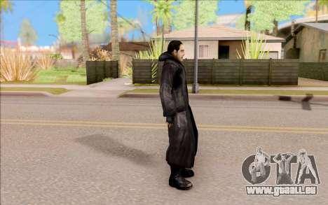 Le capitaine de Sobolev de S. T. A. L. K. E. R. pour GTA San Andreas troisième écran