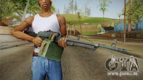 Battlefield 4 - PKP Light Machine Gun für GTA San Andreas
