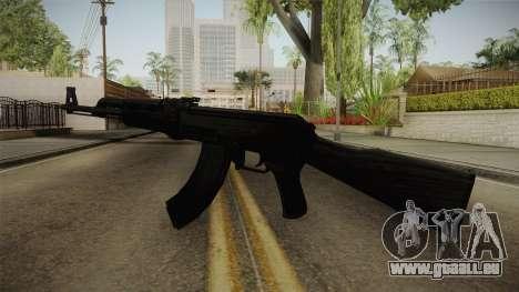 Black AK-47 für GTA San Andreas zweiten Screenshot