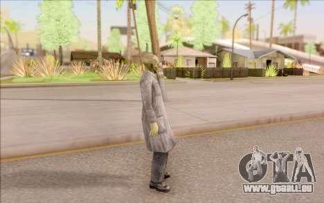 Zombie scientifique de S. T. A. L. K. E. R. pour GTA San Andreas troisième écran