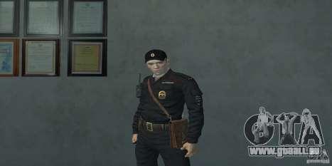 Pak Offiziere der Russischen Föderation für GTA San Andreas zweiten Screenshot