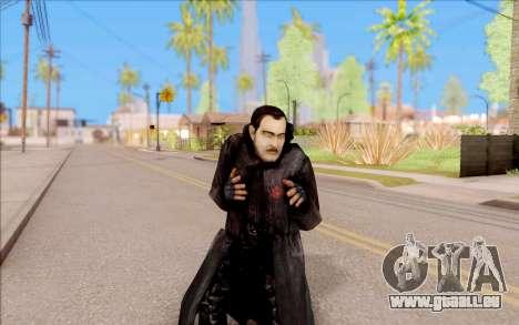 Le capitaine de Sobolev de S. T. A. L. K. E. R. pour GTA San Andreas cinquième écran
