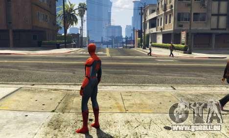 GTA 5 Spiderman [Add-On Ped] 2.2 dritten Screenshot