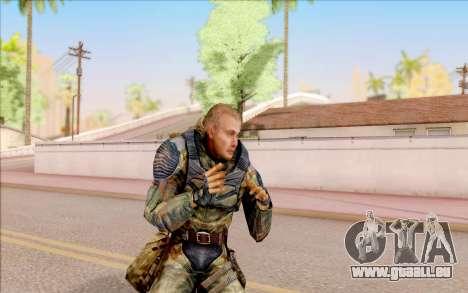 Celle de S. T. A. L. K. E. R. pour GTA San Andreas cinquième écran