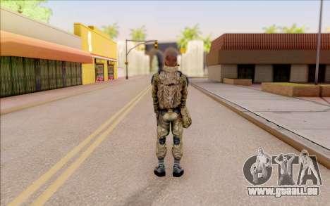 Celle de S. T. A. L. K. E. R. pour GTA San Andreas quatrième écran