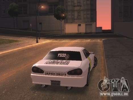 New Elegy PaintJob JDM für GTA San Andreas linke Ansicht