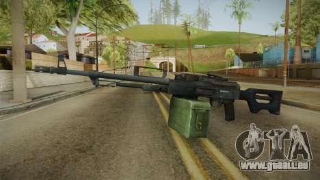 Battlefield 4 - PKP Light Machine Gun für GTA San Andreas zweiten Screenshot