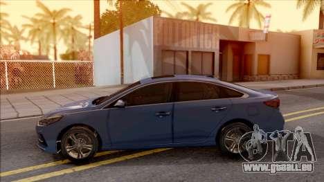 Hyundai Sonata 2018 pour GTA San Andreas laissé vue