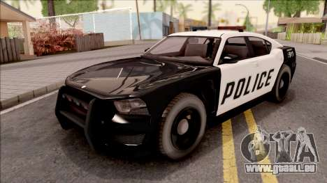 Dodge Charger Police Cruiser Lowest Poly pour GTA San Andreas