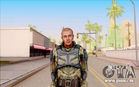 Celle de S. T. A. L. K. E. R. pour GTA San Andreas