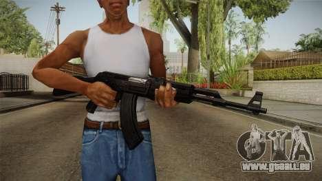Black AK-47 für GTA San Andreas dritten Screenshot