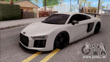 Audi R8 V10 Vorsteiner 2017 pour GTA San Andreas