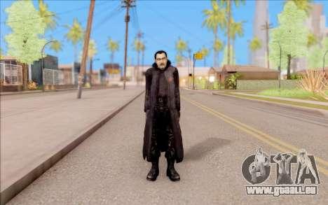 Le capitaine de Sobolev de S. T. A. L. K. E. R. pour GTA San Andreas