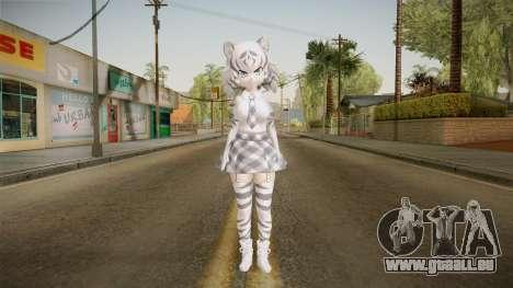 Kemono Friends - White Tiger für GTA San Andreas zweiten Screenshot