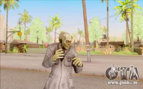 Zombie scientifique de S. T. A. L. K. E. R. pour GTA San Andreas cinquième écran