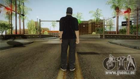 GTA 5 Online Smuggler DLC Skin 1 pour GTA San Andreas troisième écran