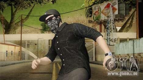 GTA 5 Online Smuggler DLC Skin 1 pour GTA San Andreas