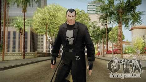 Marvel Heroes - Punisher Overcoat für GTA San Andreas