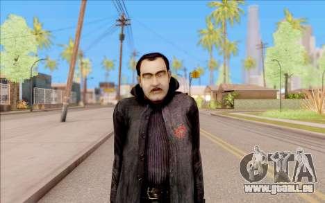 Le capitaine de Sobolev de S. T. A. L. K. E. R. pour GTA San Andreas deuxième écran