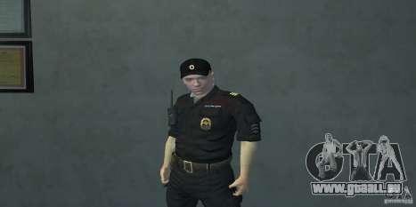 Pak Offiziere der Russischen Föderation für GTA San Andreas