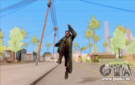 Le mâle de S. T. A. L. K. E. R. pour GTA San Andreas cinquième écran