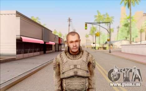 Mole de S. T. A. L. K. E. R. pour GTA San Andreas troisième écran