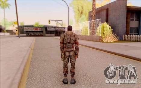 Zombie Degtyarev de S. T. A. L. K. E. R. pour GTA San Andreas quatrième écran