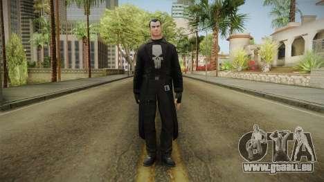 Marvel Heroes - Punisher Overcoat für GTA San Andreas zweiten Screenshot