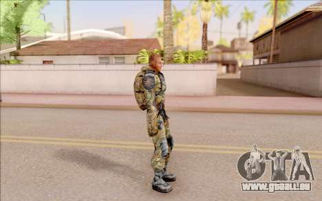 Celle de S. T. A. L. K. E. R. pour GTA San Andreas troisième écran