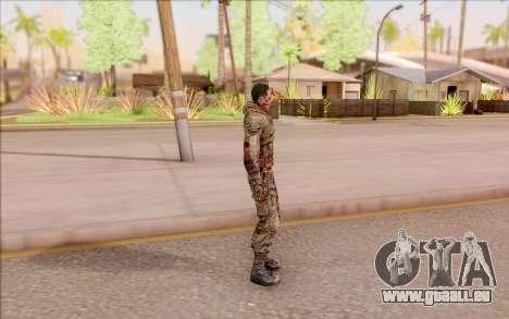 Zombie Degtyarev de S. T. A. L. K. E. R. pour GTA San Andreas troisième écran