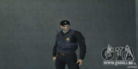 Pak Offiziere der Russischen Föderation für GTA San Andreas dritten Screenshot