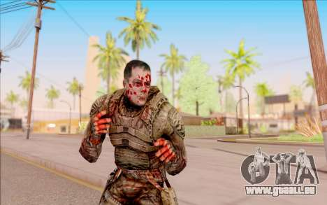 Zombie Degtyarev de S. T. A. L. K. E. R. pour GTA San Andreas