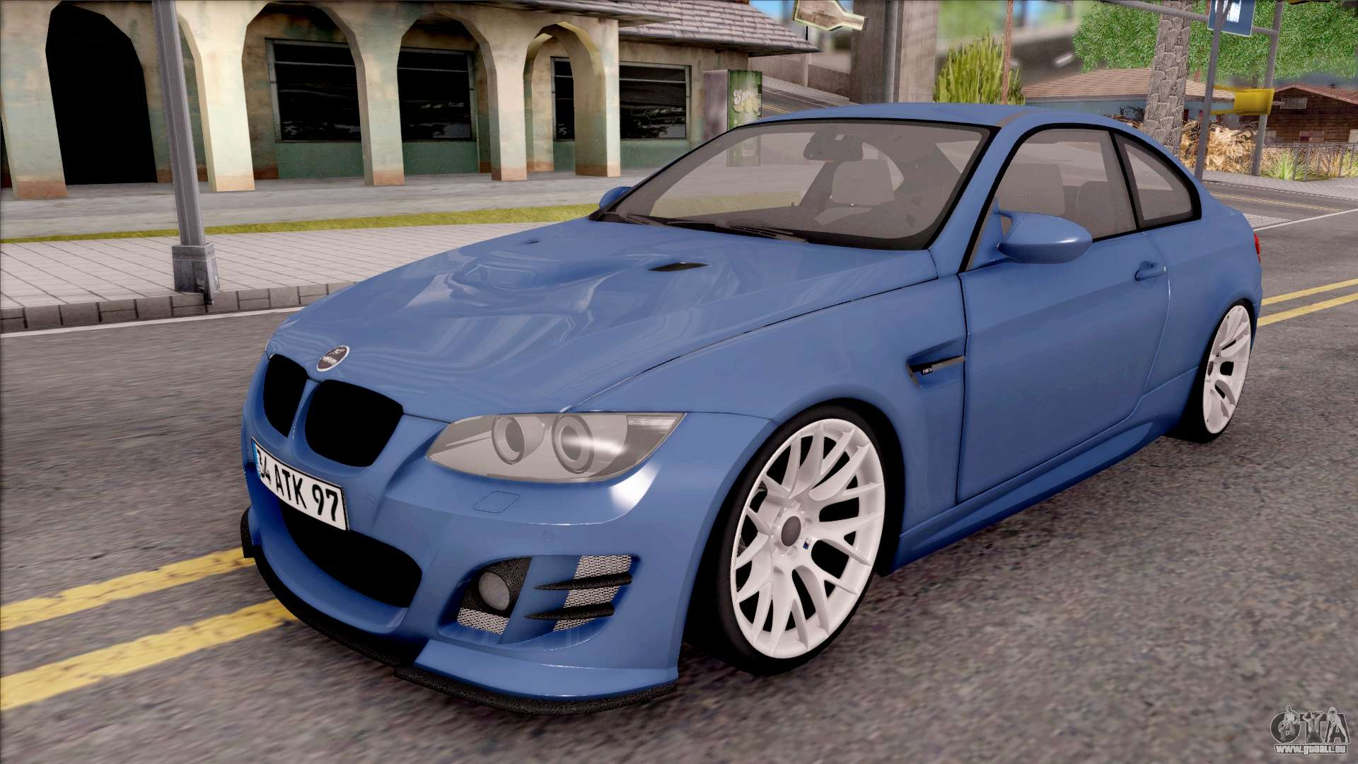 bmw m3 e92 hamann tuning pour gta san andreas. Black Bedroom Furniture Sets. Home Design Ideas