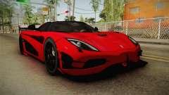 Koenigsegg Agera RS v2 für GTA San Andreas