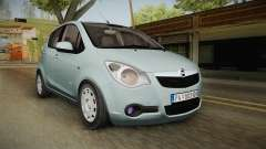Opel Agila pour GTA San Andreas