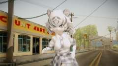 Kemono Friends - White Tiger