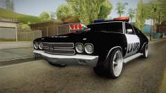Chevrolet Chevelle SS Police LVPD 1970 v1 pour GTA San Andreas